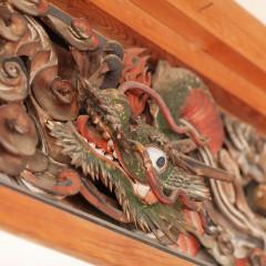 長栄寺 清水巌の欄間